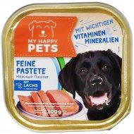 Корм для собак «My happy pets» c лососем, 300 г.