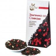 Чай черный «Frutea» земляника со сливками, 50г.