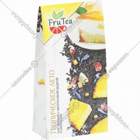 Чай черный «Frutea» тропическое лето, 50г.