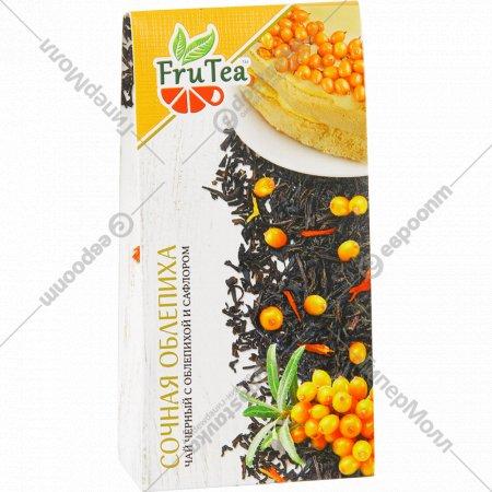 Чай черный «Fru Tea» сочная облепиха, 50 г.