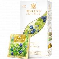 Чай зеленый «Hyleys» черника, 25 пакетиков.