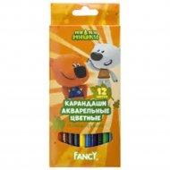 Набор карандашей «Fancy» акварельные, 12 цветов.