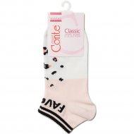 Носки женские хлопковые «Ce «Classic»» персик, размер 23.