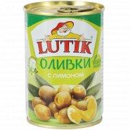 Оливки «Lutik» с лимоном, 280 г.
