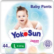 Подгузники-трусики «YokoSun» Премиум, 9-14 кг, размер L, 44 шт.
