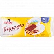 Пирожное «Balconi» с начинкой из какаосодержащего крема 10x28 г.