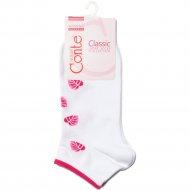 Носки женские хлопковые «Ce «Classic»» белые, размер 23.