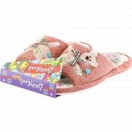 Обувь домашняя для девочек «Lucky land» 2921K-LMO-S, размер 34.