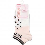 Носки женские хлопковые «Ce «Classic»» персик, размер 25.