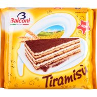 Торт бисквитный «Balconi» тирамису с кремом маскарпоне 400 г.