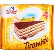 Торт бисквитный «Balconi» тирамису с кремом маскарпоне, 400 г.