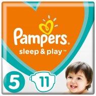 Подгузники «Pampers» Sleep & Play 11-18 кг, 5 размер, 11 шт.