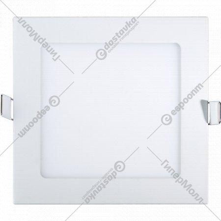 Светильник «TruEnergy» светодиодный ультратонкий квадрат, 3W, 4000K, IP20.