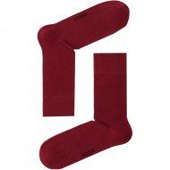 Носки мужские «DiWaRi Classic» бордо, размер 25.