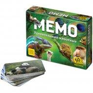 Игра «Мемо. Удивительные животные».