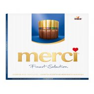 Шоколад «Merci» finest selection молочный, 250 г.