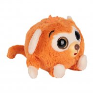 Дразнюка-Zoo «1Toy» плюшевая оранжевая обезьянка, Т10348.
