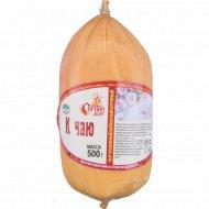 Сыр плавленый колбасный копченный «К чаю» 30%, 500 г.