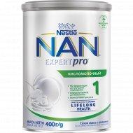 Смесь сухая «NAN-1» кисломолочная, с рождения, 400 г.