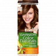 Крем-краска для волос «Garnier Color Naturals» золотистый каштан 4.3.