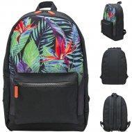 Рюкзак городской «Цветные Листья» для девочек.