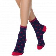 Носки женские хлопковые «Ce «Classic»» темно-синие, размер 25.