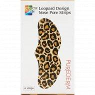 Полоски для носа «Purederm» Leopard, 6 шт х 2 г