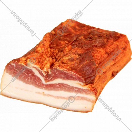 Продукт из мяса сырокопченый «Грудинка Рождественская» 1 кг., фасовка 0.75-0.8 кг