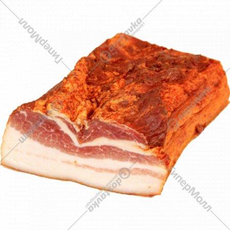 Продукт из свинины «Грудинка Рождественская» сырокопченый, 1 кг., фасовка 0.6-1.1 кг