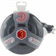 Удлинитель «Эра» РА UR-3-3m-B 3 гн, 3 м, 2x0.75 мм2, /10.