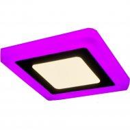 Светильник «TruEnergy» с подсветкой, квадрат, 6+3W, IP 20.