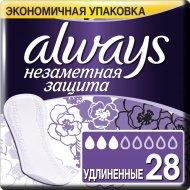 Прокладки женские ежедневные «Always» удлиненные, 28 шт. .