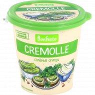 Сыр мягкий «Bonfesto Cremolle» творожный, соленые огурцы, 125 г.