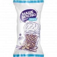 Мороженое «Наше детство» с ароматом ванилина, 70 г.