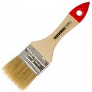 Кисть флейцевая «4Walls» натуральная щетина, деревянная ручка, 25 мм.