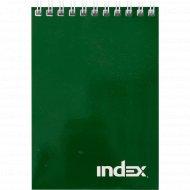 Блокнот «Office classic» на гребне, зеленый, 40 л.