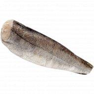 Рыба свежемороженая «Хек», 1 кг, фасовка 0.8-1.2 кг