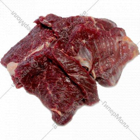 Полуфабрикат мелкокусковой бескостный «Котлетное мясо говяжье» 1 кг.