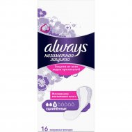 Прокладки женские ежедневные «Always» удлиненные, 16 шт.