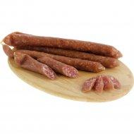 Колбаски сыровяленые салями «Бужоле с красным вином» высшего сорта, 1 кг, фасовка 0.25-0.25 кг