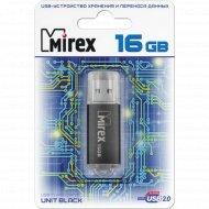 USB «Mirex» UNIT, 16GB, 13600-FMUUND16.