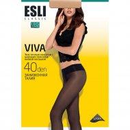 Колготки женские «Esli Viva» 40 den, Nero, размер 3