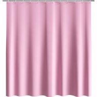 Шторка для ванной «Comfort Alumin» розовая, 180x180 см