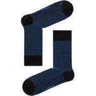 Носки мужские «Dw Classic» черно-синие, размер 25.