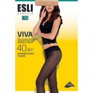 Колготки женские «Esli Viva» 40 den, Visone, размер 2