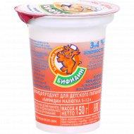 Бифидопродукт «Бифидин малютка 5-12» 3.4 %, 150 г.