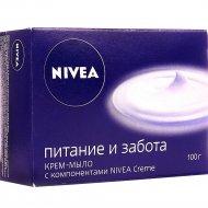 Крем мыло «Nivea» питание и забота, 100 г.