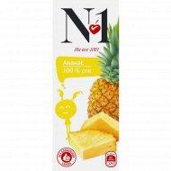 Сок «№1» ананас, 0.2 л.