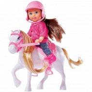 Кукла «Эви» и ее маленькая пони, 12 см.