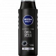 Шампунь для мужчин «Nivea» сила угля, 400 мл.